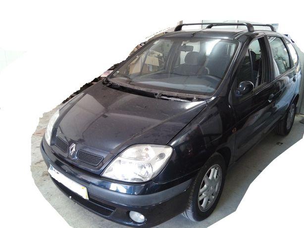 Renault Scenic 1.9dci 00, clio I e II para peças