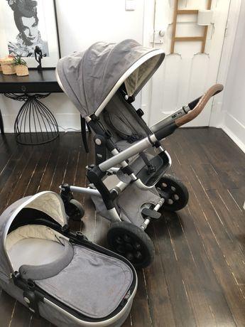 Carrinho de bebé+alcofa+cadeirinha de passeio