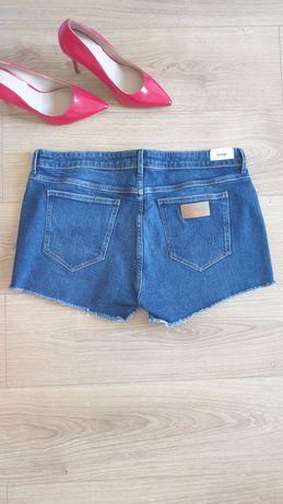 Krótkie spodenki jeansowe Wrangler