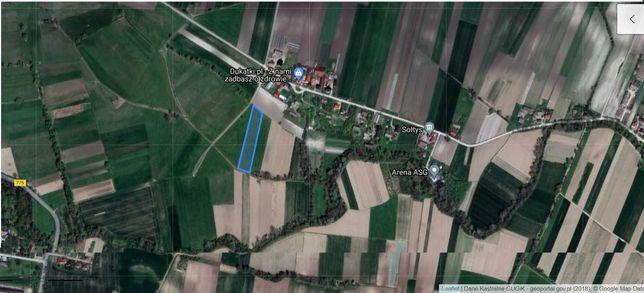 Sprzedam pole 58 arów w miejscowości Budziejowice REZERWACJA