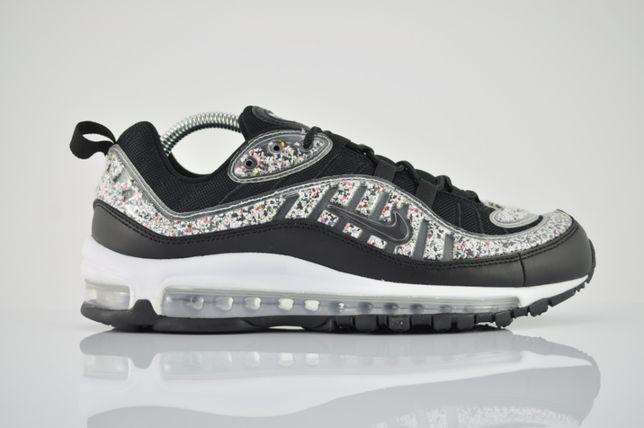 "Nike WMNS Air Max 98 LX ""Black/White"" 42 czarne nowe kolorowe PURRFECT"