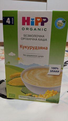 Hipp органическая кукурузная кашка безмолочная для детского питания