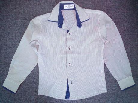 Рубашка на 6-8 лет. Рукав длинный+короткий. Отличное состояние!