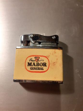 Mabor General raro isqueiro antigo a petróleo Penguin Patent