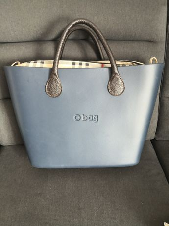 O bag Obag urban navy blue + dwa organizery