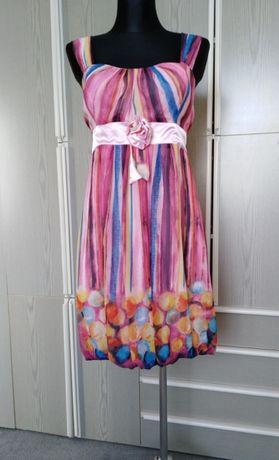 Sukienka wizytowa 44 (xl) nowa, wesele, komunia