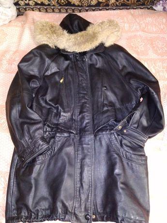 Куртка кожаная винтаж