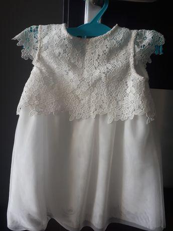 Sukienka na chrzest rozmiar 80