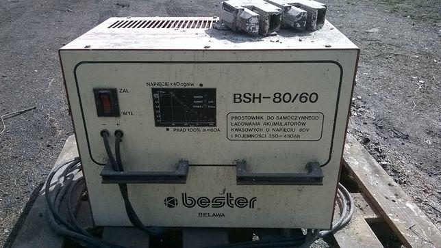 Prostownik do wózka widłowego BSH 80/60