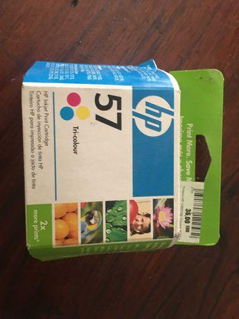Tinteiro tricolores HP 57
