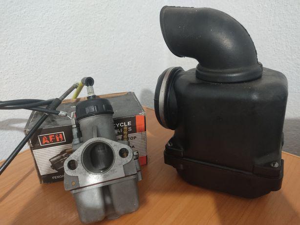 Карбюратор К68 + воздушный фильтр.