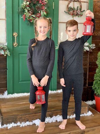 Термобелье детское с шерстью мягкое и приятное