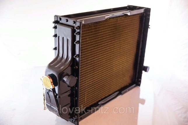 Радиатор Латунь МТЗ, ЮМЗ/сердцевина/бачки/диффузор,Вентилятор,Помпа