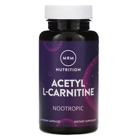 Nutrition, Acetyl L-Carnitine, 60 Vegan Capsules