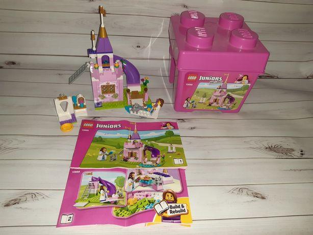 Лего lego junior замок с принцессой
