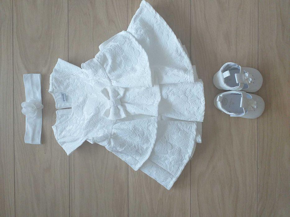 Sukienka do chrztu 74 , zestaw Krosno - image 1