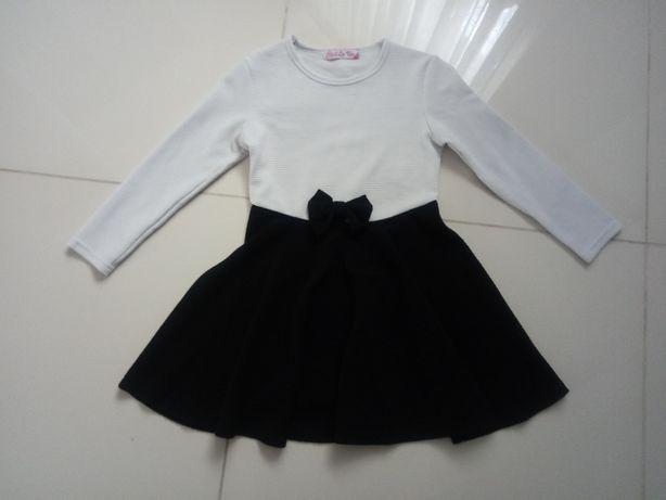 Sukienka wizytowa galowa rozm. 134 140 (dł.sukienki 63cm)
