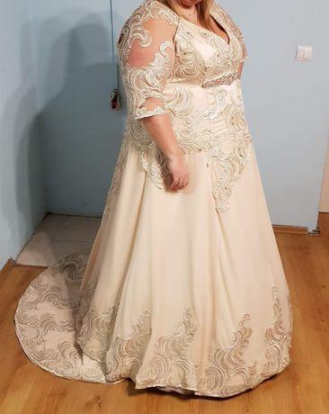 Suknia ślubna w rozmiarze plus size 54/56/58/60 zapraszam