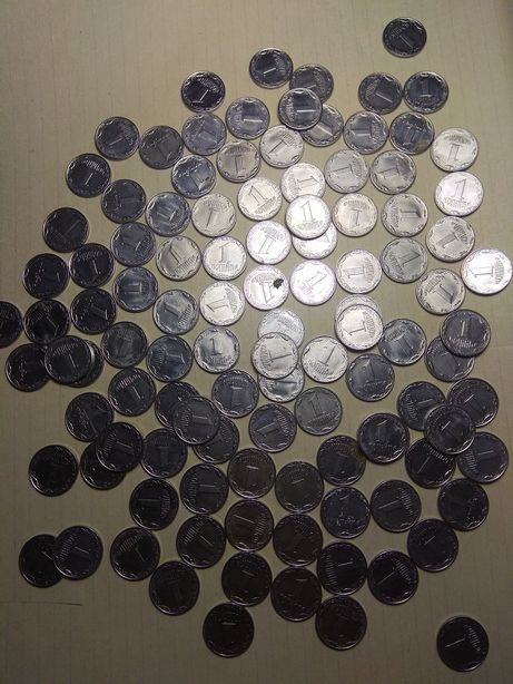 Монеты 1 одна копейка 1992 г 2000 -2009 г 2 коп