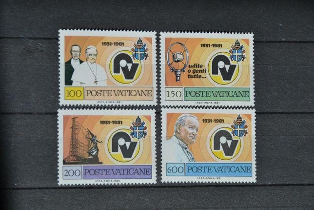 Znaczki. Watykan. Papież Jan Paweł II **