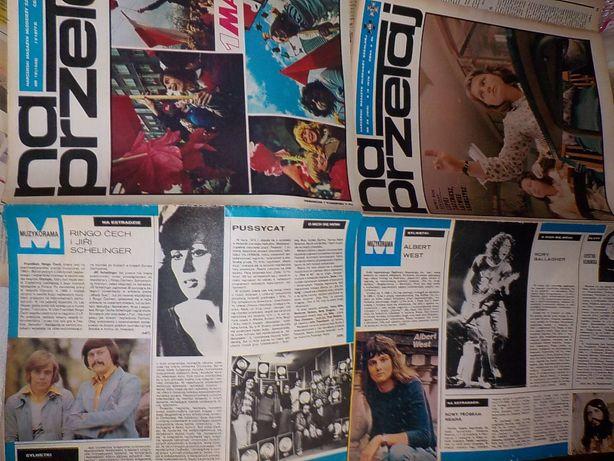 Niemen Na Przełaj gazety harcerze muzyka młodośc 1976 rok 1977