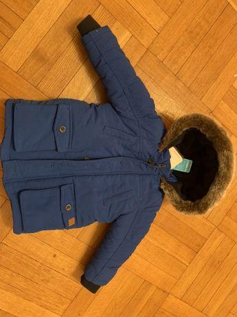 Пальто пуховик куртка детская