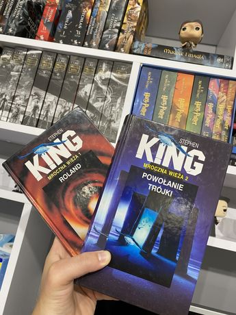 Mroczna wieża 2 , 1 Stephen King , powołanie trójki , Roland