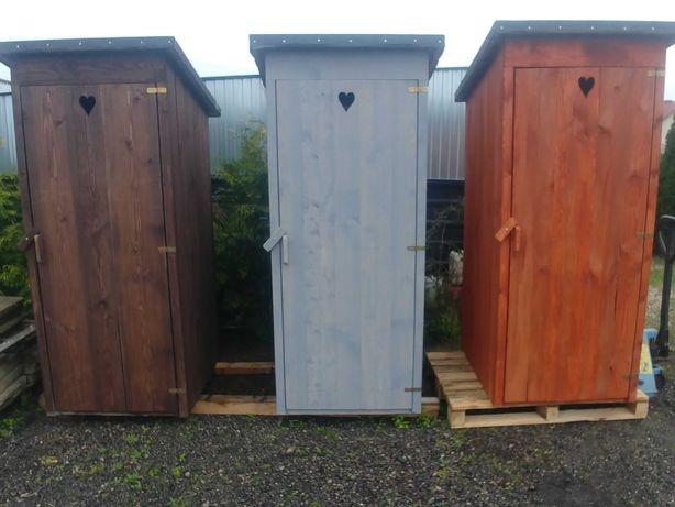 Wychodek drewniany WC Toaleta na budowe Kibel Latryna