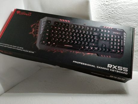 Teclado Gamer - Natec - Genesis Rx55 Pro Gaming - Keyboard