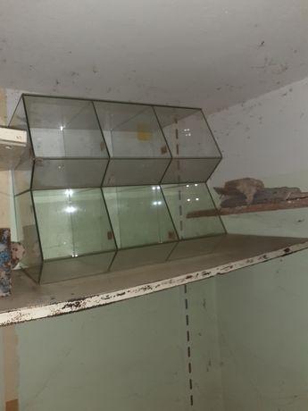 Gabloty. Witryny szklane