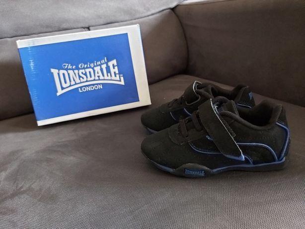 Buty sportowe adidasy Lonsdale roz 24 praktycznie nowe
