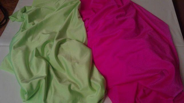 Ткань бифлекс неоновых цветов