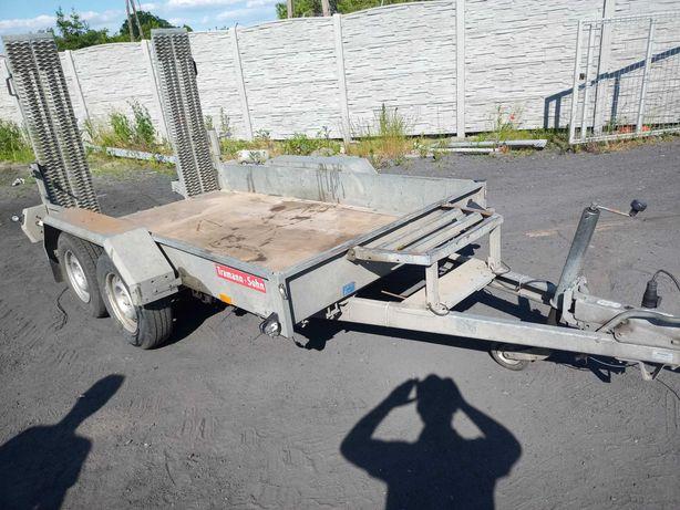 przyczepka samochodowa ,ciężarowa hambaur