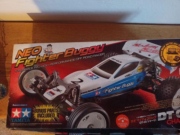 Tamiya neo fighter buggy 1/10 model zdalnie sterowany samochód rc