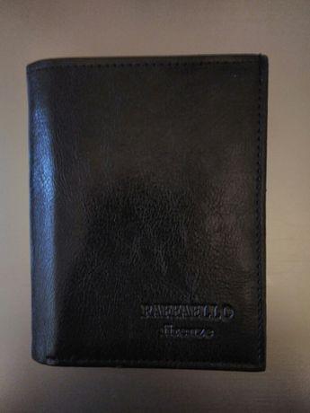 Мужской кожаный кошелек, кожа, гаманець шкiряний, на подарок