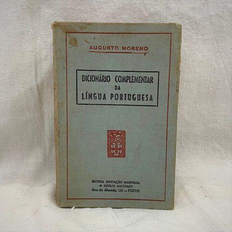 Dicionário Complementar Língua Portuguesa 1954