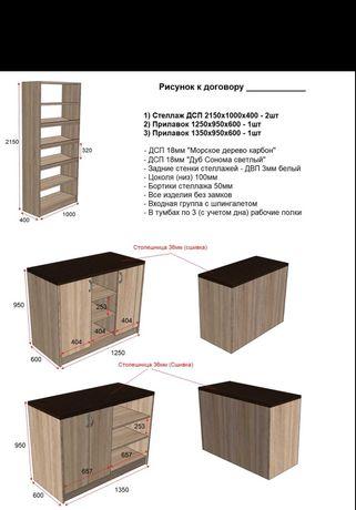 Комплект торговой мебели
