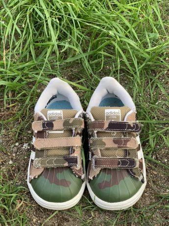 Дитячі кросівки adidas superstar, 22 розмір