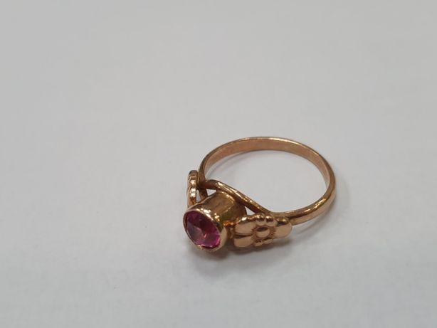 Piękny! RETRO złoty pierścionek damski/ 585/ 3.5 gram/ R15/ Gdynia
