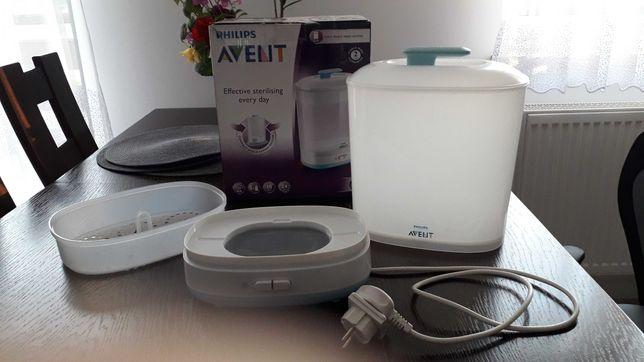 Elektryczny sterylizator parowy Philips Avent 2 w 1
