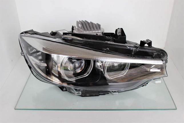 LAMPA PRAWA BMW F32 F33 F36 LIFT LCI FULL LED bmw 4 okazja sprawź tani