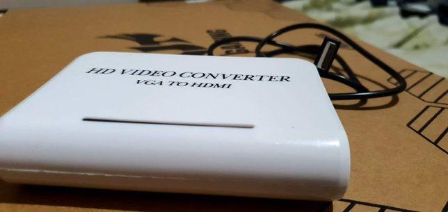 Konwerter VGA to Hdmi, kosci ram, kabel vga