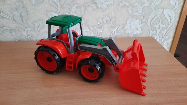 Трактор самосвал бульдозер лена Lena wader машинка