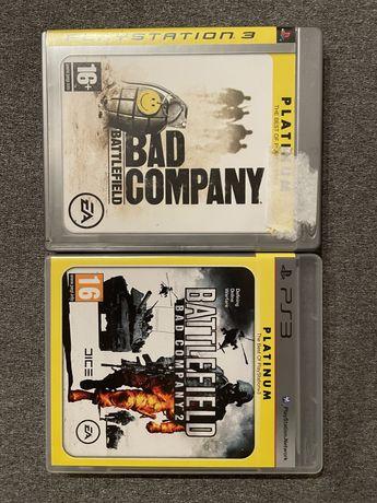 Battlefield Bad Company 1 e 2 - PS3