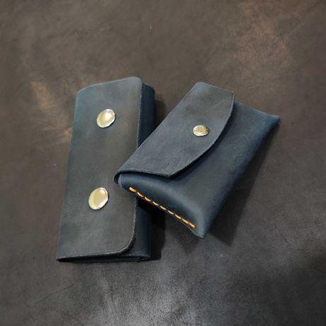 Подарочный набор: Ключница и Картхолдер, натуральная кожа
