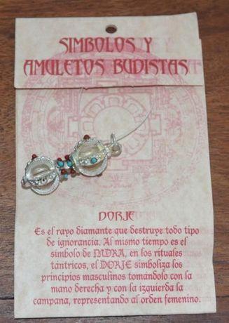 Símbolo Budista Dorje - Pendente para Colar