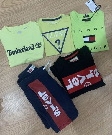 Roupas verao levis tommy guess timberland