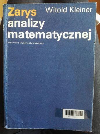 Zarys analizy matematycznej Witold Kleiner PWN