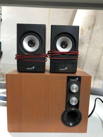 głośniki komputerowe   GENIUS SW-HF 2.1 głośniki do komputera