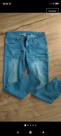Modne rurki jeansy esmara 42